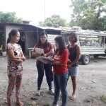 TB Casefinding Door to Door Card Checking at Brgy Carmen, Anao Tarlac