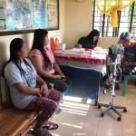 Clinic Day at Brgy. Sinense dispenses Basic Health Care