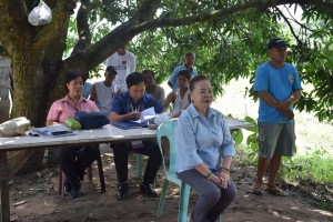 Participatory Technology Demonstration for Rice Varietal Trial (1)