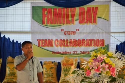 LGU MOA Celebrated Family Day September 27, 2019 at Municipal Covered Court