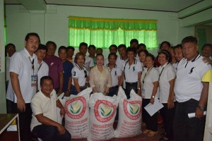 Distribution of Certified Palay Seeds (1)
