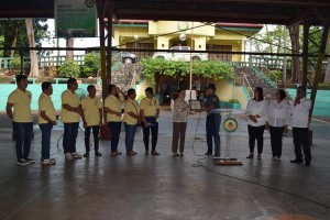 The Local Government of ANAO conducted the Traditional First Monday Flag Raising Program held on November 6, 2017 (2)